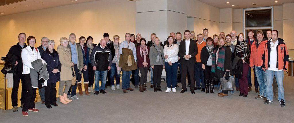 Teilnehmer der Infofahrt im März 2018