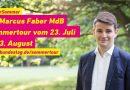 Sommertour Dr. Marcus Faber, die erste Woche
