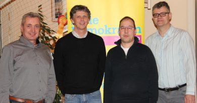 FDP Ortsverband wählt Vorstand