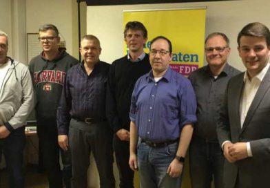 Ortsverband stellt Kandidaten zur Kommunalwahl auf.