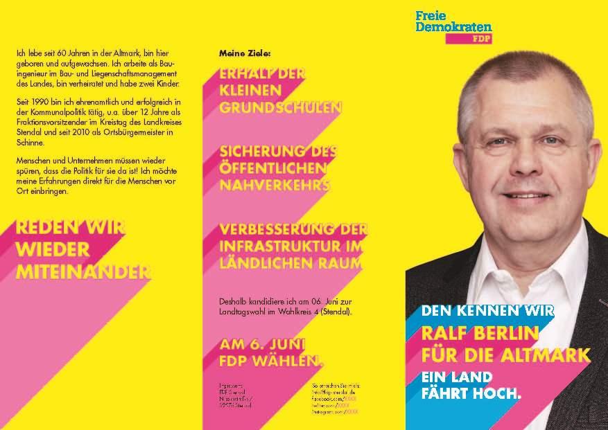 Flyer Ralf Berlin